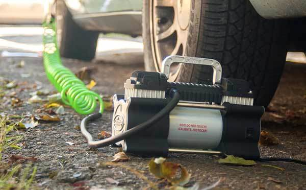 How To Use A Portable Tire Inflator