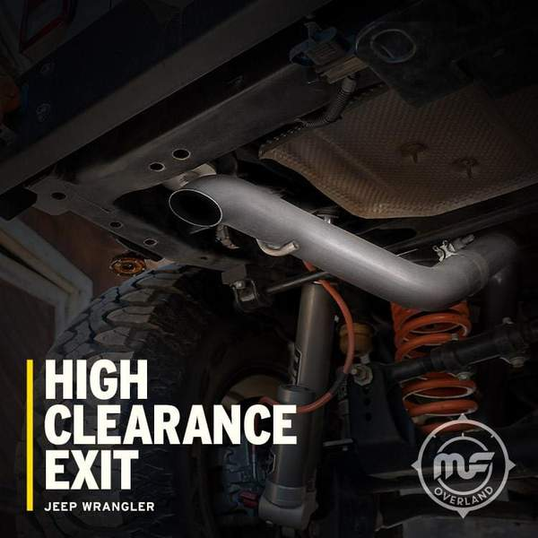Pros and Cons of High Clearance Exhaust Systems